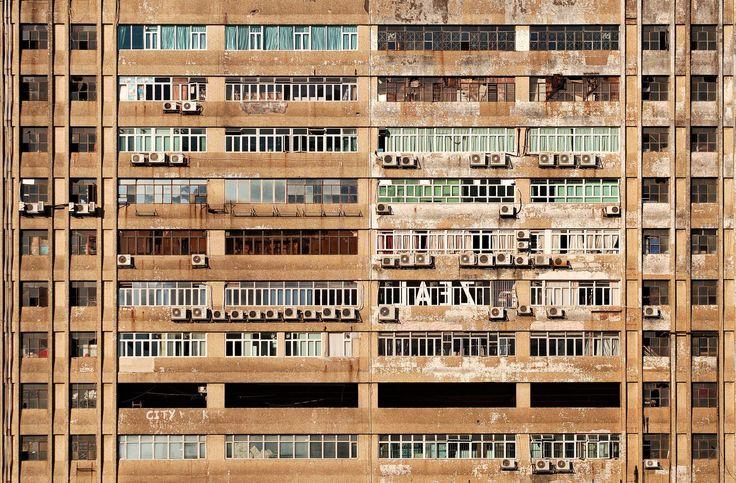edificio, fachada, apartamentos, abandonados, sucios, viejos, aires acondicionados, 1702211627