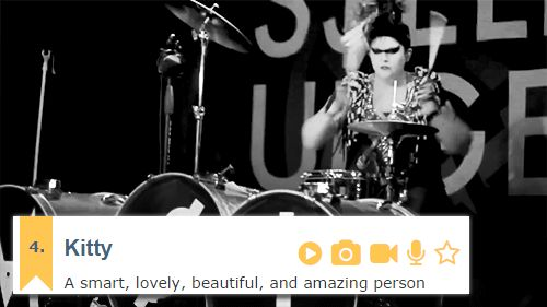 "Kitty - Mindless Self Indulgence "" Mindless Self Indulgence + Urban Dictionary (insp. +) """