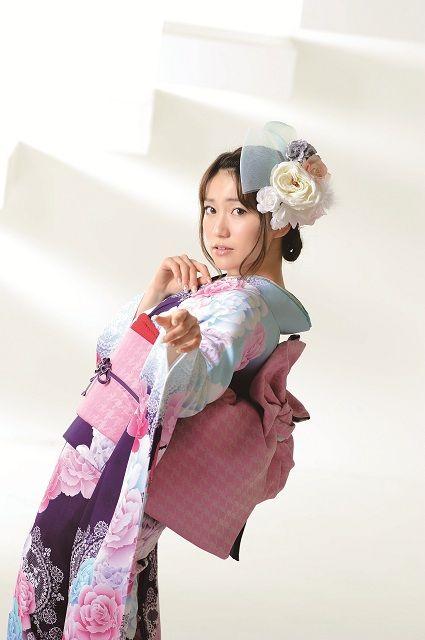 Yuko Oshima for Oshima U Co | AKB48大島優子が振り袖をプロデュース、参考 ...