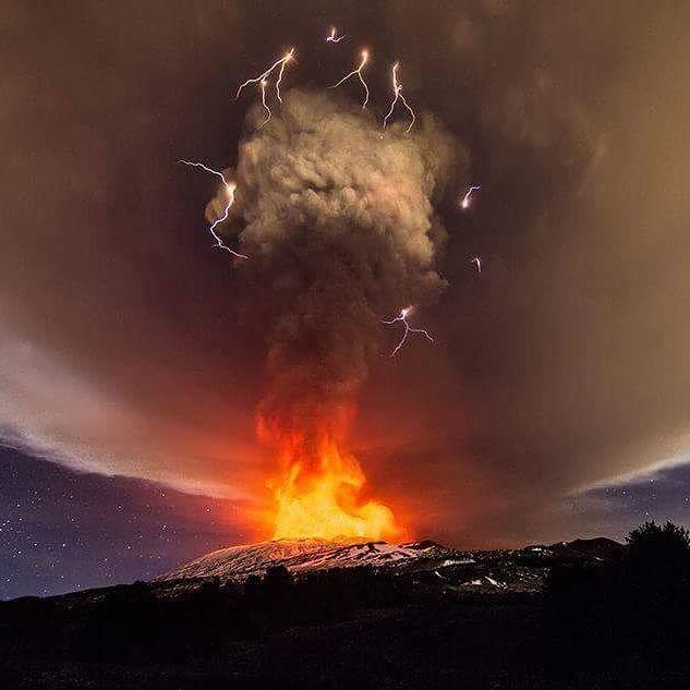 Mount Etna, Sicily by Marco Restivo. December 3, 2015