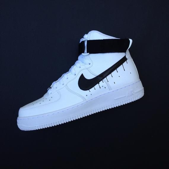 New Nike Air Force 1 Custom Drip AF1 Sneakers High Quality