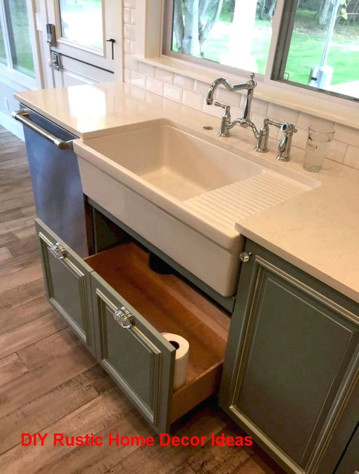 Amazing Rustic Kitchen Island Diy Ideas Rustichomedecor Rusticdecoration In 2020 Diy Kitchen Renovation Farmhouse Style Kitchen Farmhouse Kitchen Diy