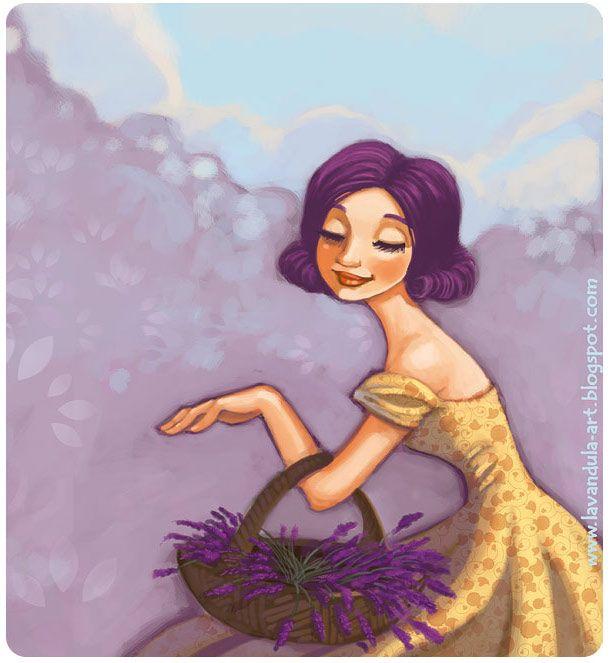 Lavender mood by Vasylissa.deviantart.com on @deviantART