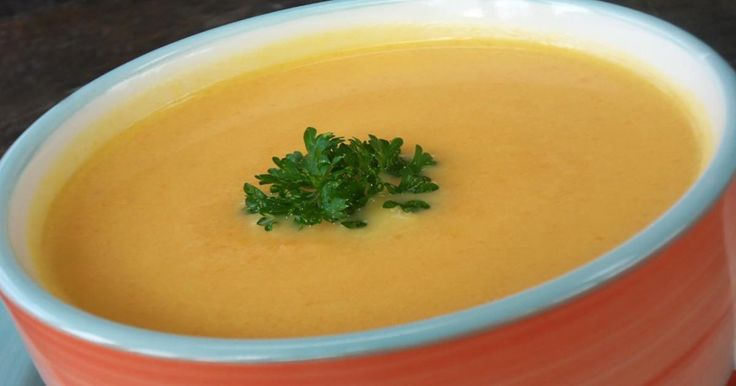 Coup de coeur pour cette crème de carottes qui sort de l'ordinaire!