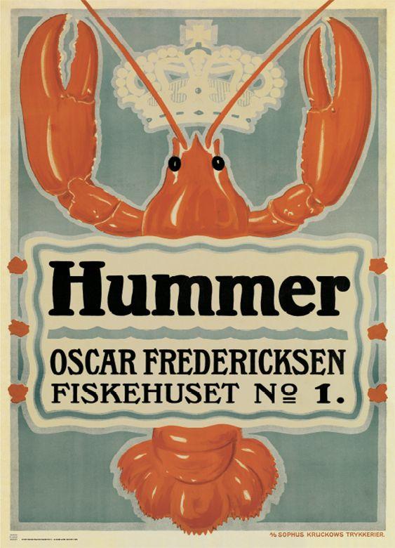 Hummer (1917) Kunstner: Aage Lund.