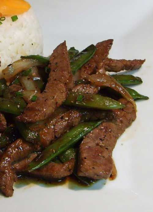 Recipe for Black Pepper Beef - This is quick and easy to make. It also happens to be one of my favorites...I think I need to make this more often!