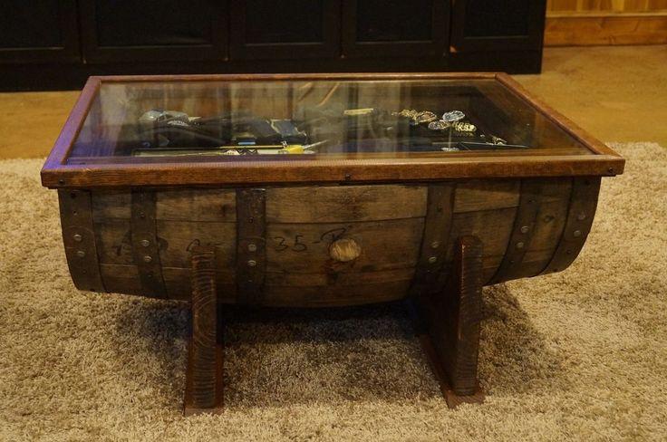 fba255d36d51c759610849479db6a4ba  whiskey barrel coffee table whiskey barrels Shadow Box Coffee Table Plans