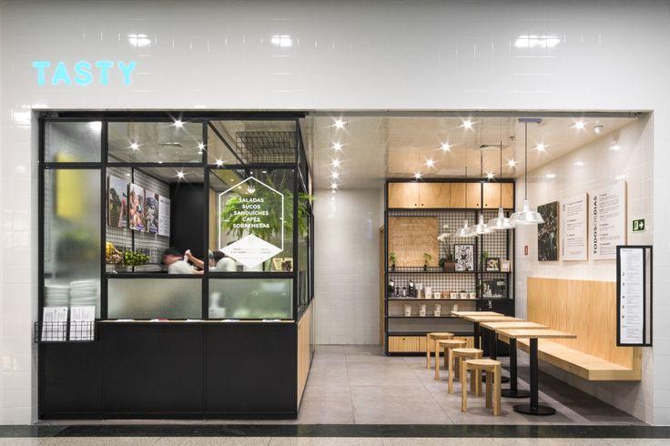 Galeria de Tasty Salad Shop / Arquea Arquitetos - 1
