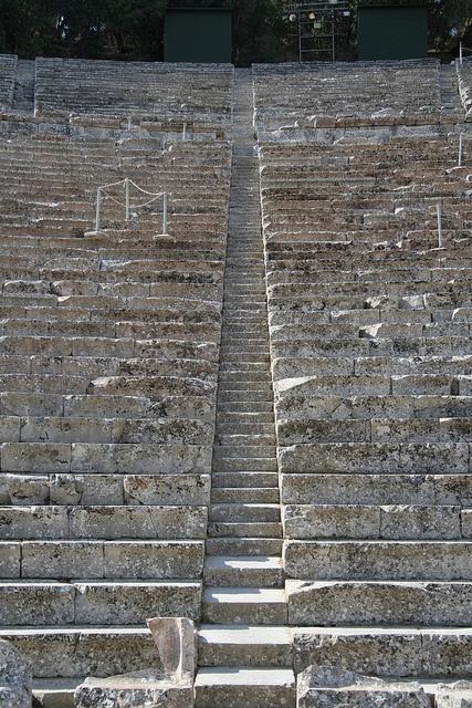 Ancient Theatre of Epidavros | Flickr - Photo Sharing!