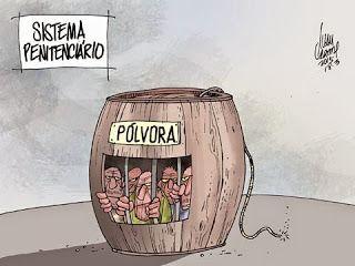 Ivan Cabral - charges e cartuns: Charge do dia: Barril de Pólvora