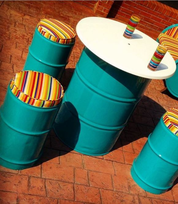 Best 25 Metal Drum Ideas On Pinterest 55 Gallon 55 Gallon Steel Drum And Industrial Outdoor
