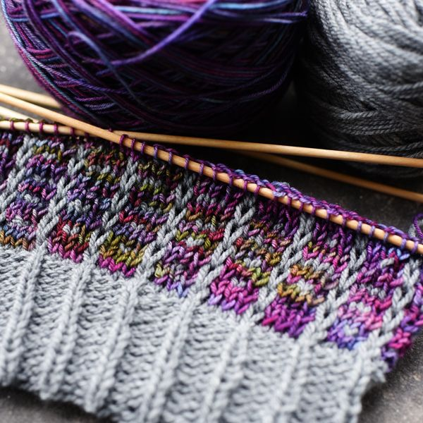 242 best images about Knitspiration: Variegated Yarn ...