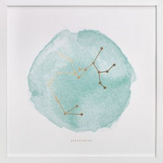 Inspiration: Constellation Art Prints - watercolor