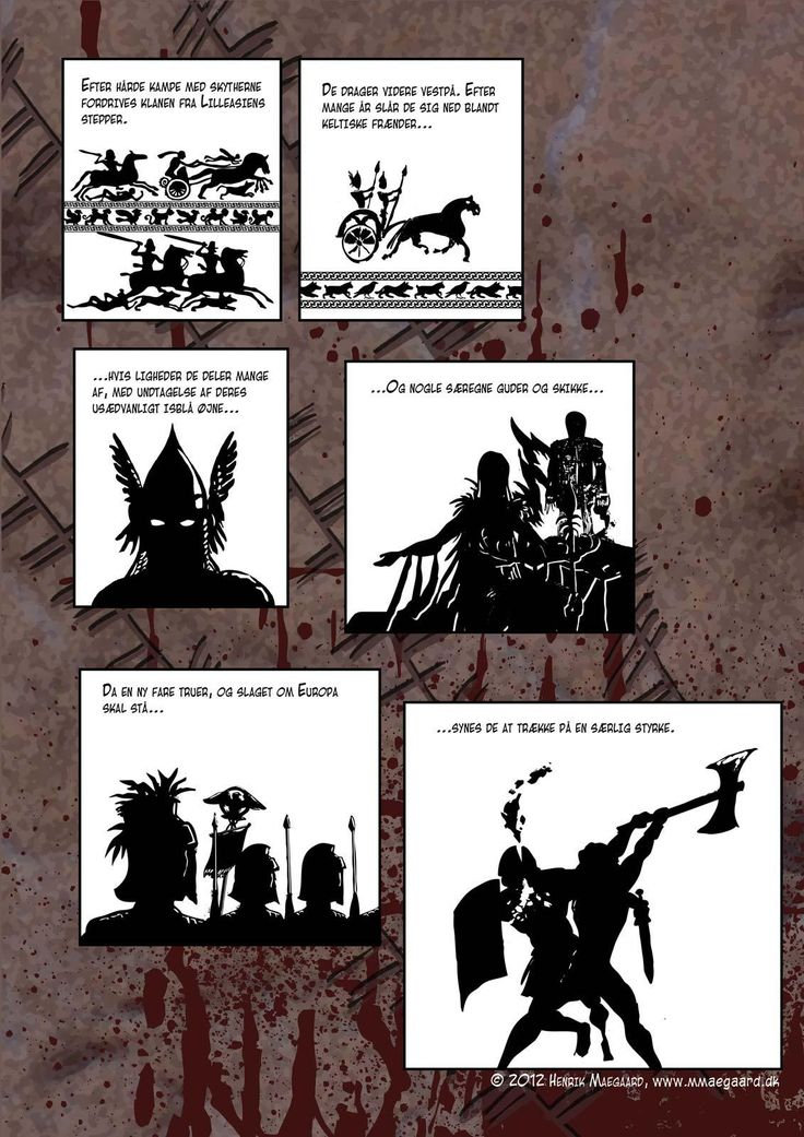 Intro til Nattens Jægere. Vi ser her en historisk baggrund for de mystiske hændelser, der senere vil vise sig i historien.