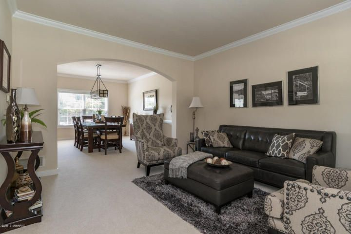 Kalamazoo, MI - Beautiful 2 story on cul-de-sac. Formal LR & DR. Open FR w built-in bookshelves, gas fireplace. Kitchen w cherry cabinetry, center island, eating area w door to patio, private backyard. Upstairs has MS w sitting area, walk-in closet & large bath w jetted tub & shower. 3 bedrooms & full bath. LL has egress window, rec room, bar & full bath. Potential 5th bedroom in basement. Excellent condition and ready to move into. Neighborhood pool membership available.
