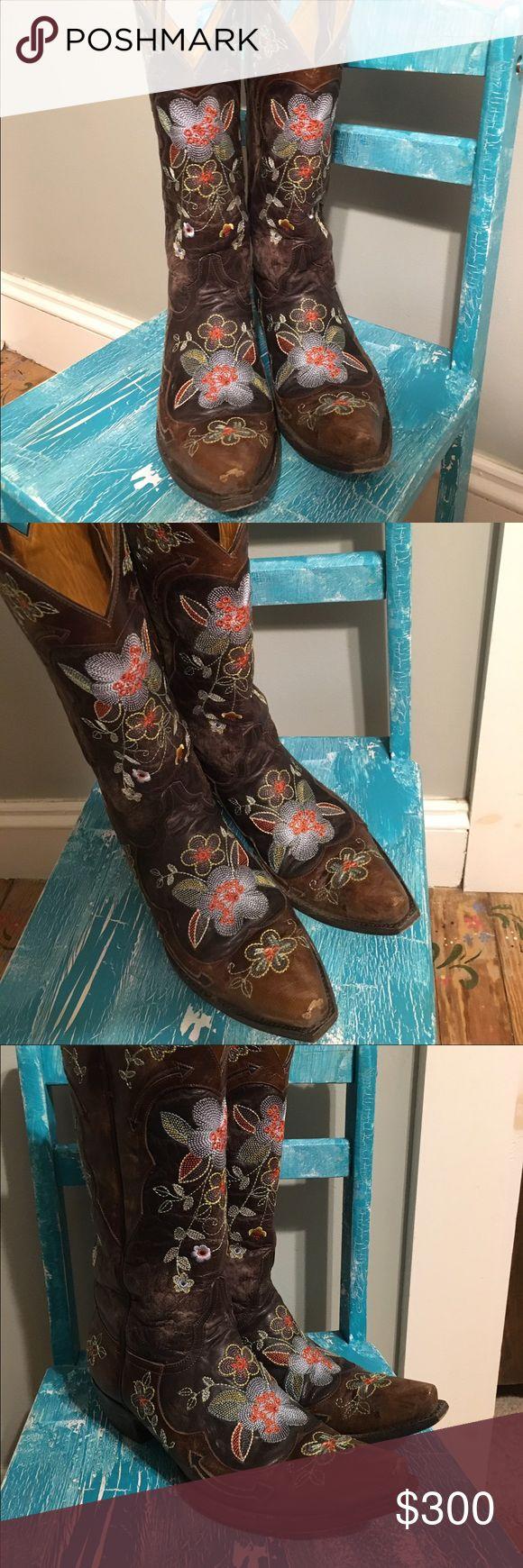 Old Gringo Bonnie Brown-size 10 Old  Gringo Bonnie -brown Old Gringo Shoes Heeled Boots