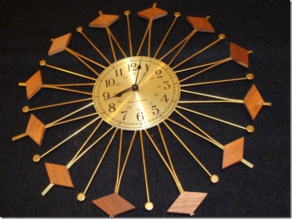 1000 Images About Tick Tock Mid Century Clock On