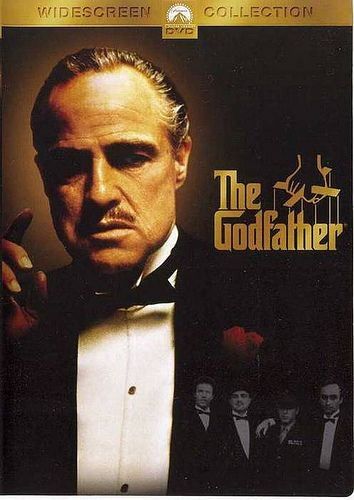 The Godfather (1972) starring Marlon Brando, Al Pacino & James Caan gosh i love this movie! !