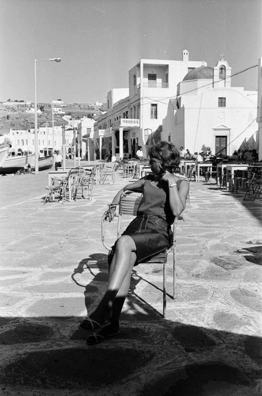 Μύκονος 1960 Φωτογραφία Harry Weber