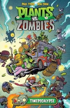 Crazy Dave--the babbling-yet-brilliant inventor and top-notch neighborhood defender--helps his niece, Patrice, and young adventurer Nate Timely fend off Zomboss's latest attack in Plants vs. Zombies: Timepocalypse!