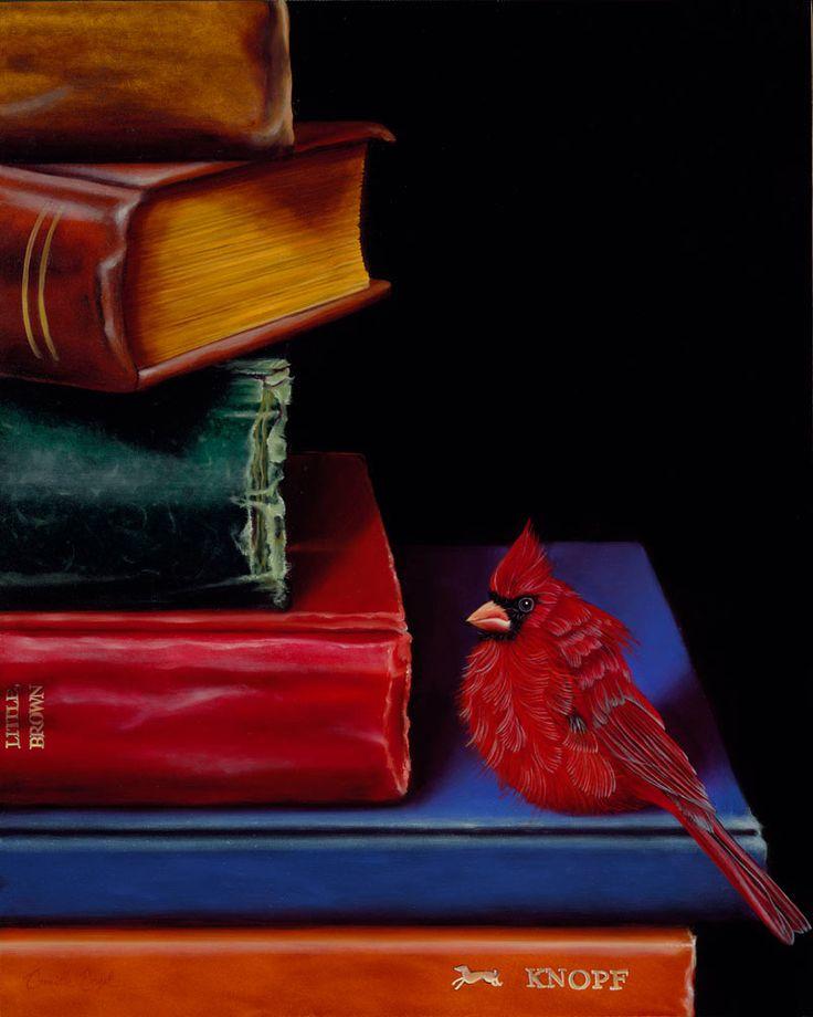 Художник: Camille Engel.  #книги #books #readingcomua #book #книга #искусство #art #картины #художник #libros #птицы #arte #реализм #красиво