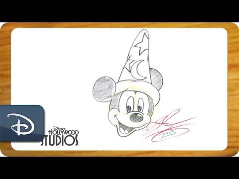 Learn to draw Sorcerer Mickey from 'Fantasia' in this animation tutorial!