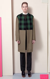Stanley Coat, Crew Neck Jumper, Fraser Shirt, Hamilton Trousers, Bailey Ankle BootsMccartney Pre Fal, Near Fal 2012, Mccartney Prefall, Stella Mccartney, Fashion Show, Fashion Prefall, Pre Fall, 2012 Fall, Prefall 2012