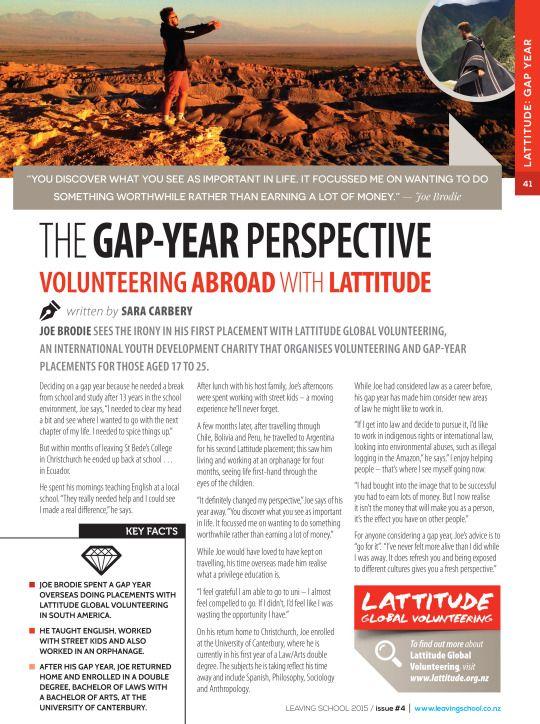 Lattitude Global Volunteering