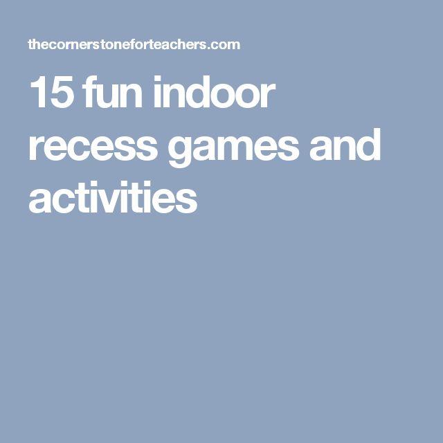 15 fun indoor recess games and activities