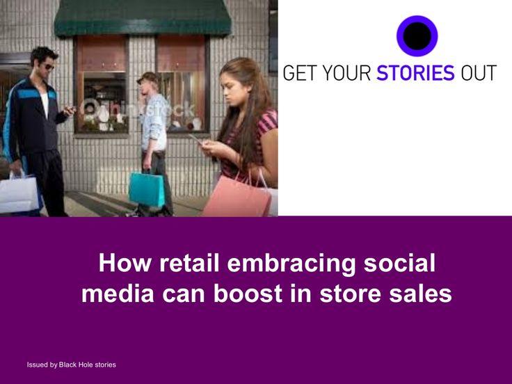 Social Media World 2013 - Γεωργιλή Αρετή: How retail embracing social media can boost in store sales
