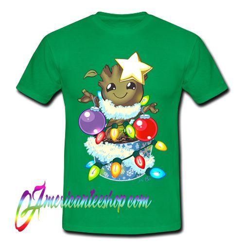 O' Christmas Groot T Shirt