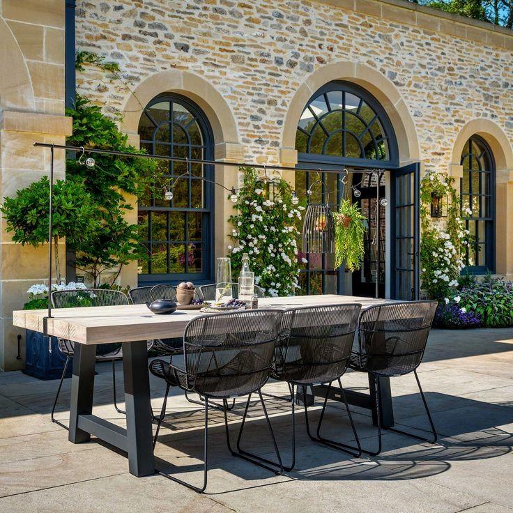 Garden Dining Set Table, Garden Dining Tables