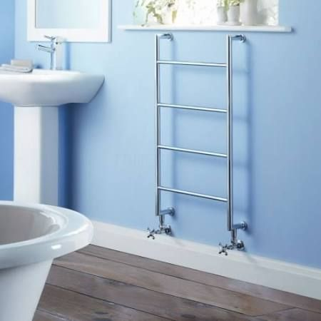 Milano Traditional Heated Towel Rail 900mm x 500mm