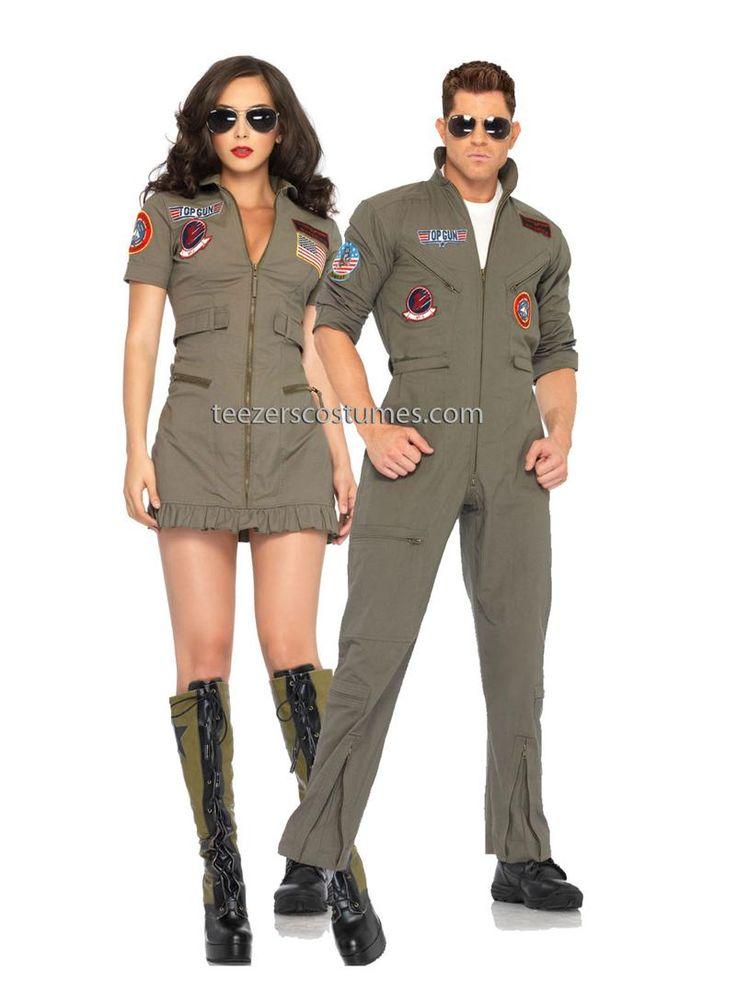 Top Gun Couples Halloween Costume - Leg Avenue
