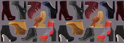UNIVERSO PARALLELO: Stivali a zeppa alta 12 centimetri