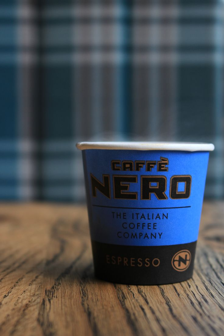 Touches of our statement blue throughout our coffee houses --- Caffe Nero