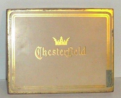 CHESTERFIELD Pocket Tobacco Tin