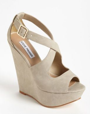 5835cc898 Steve Madden Xternal Wedge Sandal available at - extra wide womens shoes