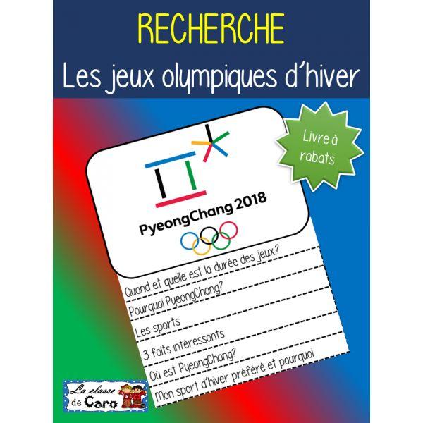 RECHERCHE - Olympiques d'hiver PyeongChang