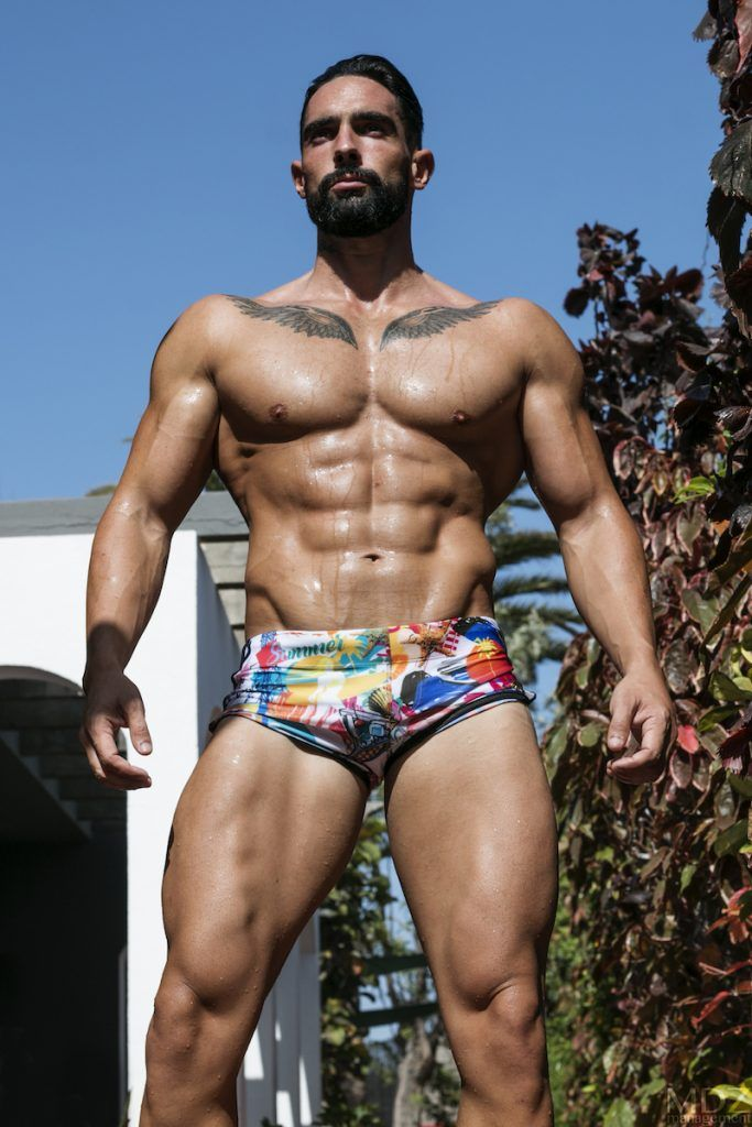 4111c68ace Niko Vazquez by MDZmanagement - Bang swimwear part one | Men's ...