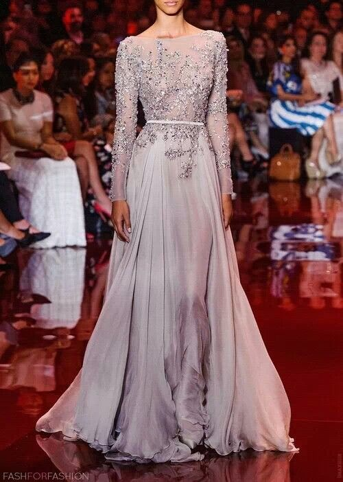 Elegant #style #gown