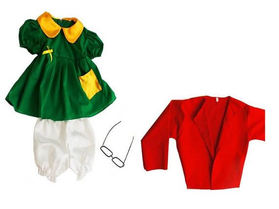 La Chilindrina Costume For Child & Adult by Mexicoatyourhome