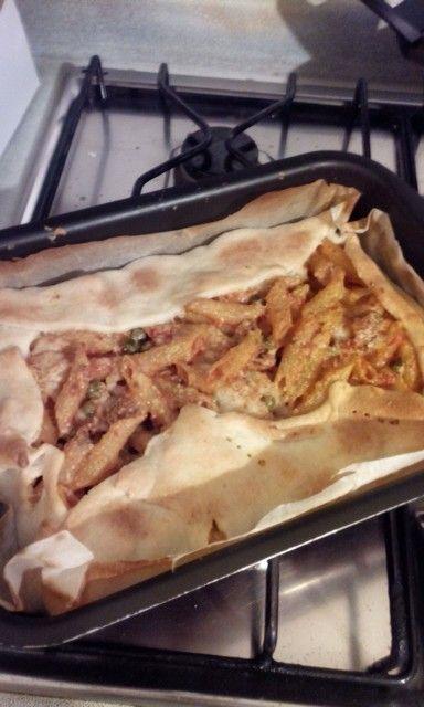 Pasta al forno con pastasfoglia