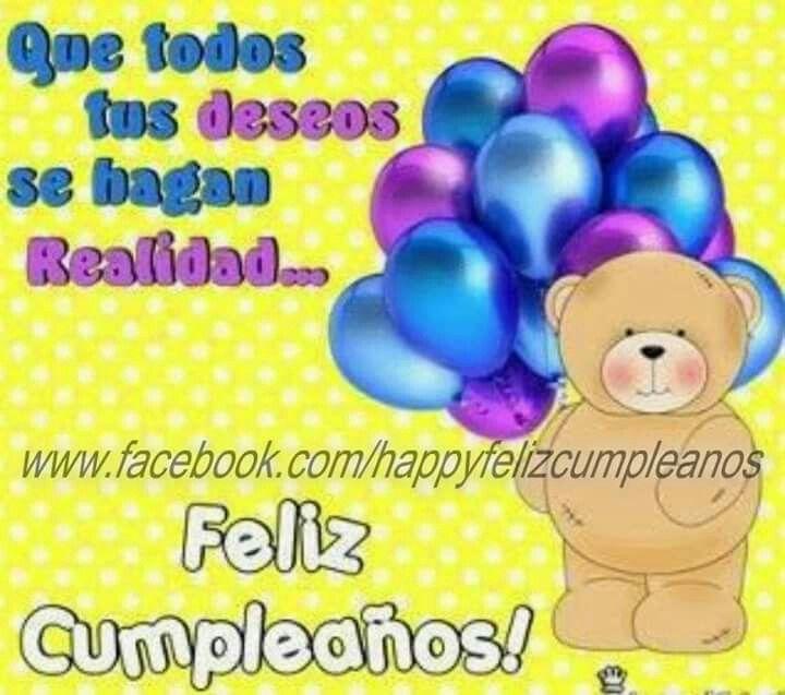 Feliz cumpleaños | tarjetas de felicitacion | Pinterest ...