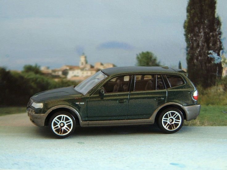 BMW X3 MK1 1:61 (Dark Green) RealToy MIP Diecast Passenger Car Sealed #Realtoy #BMW