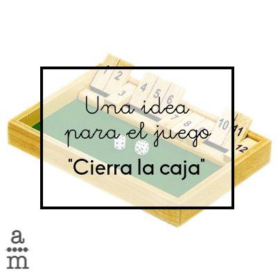 Lee las instrucciones para hacerte un cierra la caja en casa o en la escuela y poder disfrutar de este sencillo y divertido juego matemático.