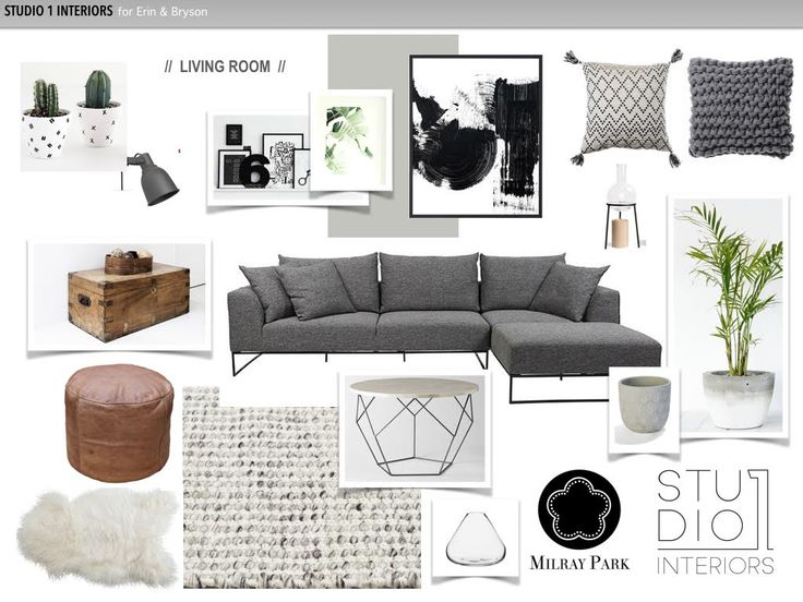 A Cosy One Bedder in Marrickville - Final Moodboard - Online Interior Design Service