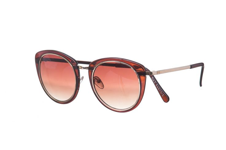 Gafas ahumadas color corinto