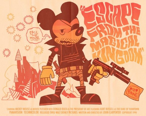 MAD mickey MAX... I mean Snake Mickey Plisken...