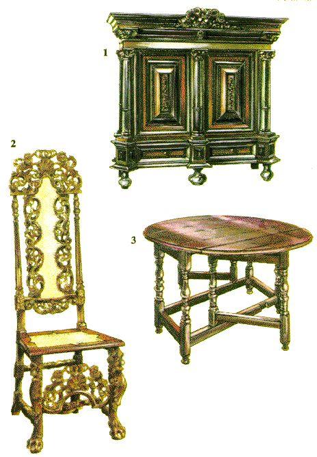 barokken møbler